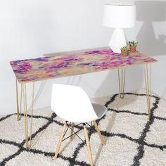 DENY Designs Jacqueline Maldonado Canopy Magenta Writing Desk
