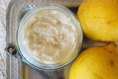raw lemon coconut butter