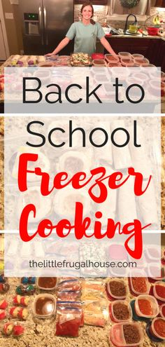 The best beginner freezer cooking tips and an easy plan to start making make ahead freezer meals to save time and money, and eat at home more. Budget Freezer Meals, Make Ahead Freezer Meals, Crock Pot Freezer, Frugal Meals, Freezer Recipes, Crockpot Meals, Premade Freezer Meals, Microwave Recipes, Bulk Cooking