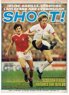 magazine in Aug 1979 featuring Nottm Forest v Liverpool on the cover. Liverpool Captain, Liverpool Football Club, Liverpool Fc, Old Football Boots, Magazine Front Cover, Magazine Covers, English Football League, Nottingham Forest, School Football
