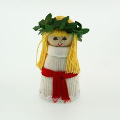 "Lucia Girl, 2"" Mini by Butticki of Sweden"