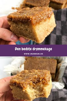 Danish Dessert, Danish Food, Sweets Cake, No Bake Desserts, Yummy Cakes, Cake Recipes, Food Porn, Food And Drink, Yummy Food