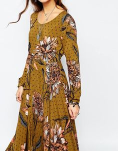 Image 3 of Free People First Kiss Maxi Dress In Large Floral Print