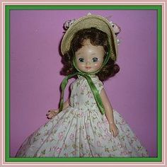 """1950's AC Betsy McCall Doll - Brunette -Original Camisole and Shoes 8"""" from ~ DOLL-LIGHTED TO MEET YOU ~ found @Doll Shops United http://www.dollshopsunited.com/stores/dolllighted/items/1298708/1950s-AC-Betsy-McCall-Doll-Brunette-Original-Camisole #dollshopsunited"""