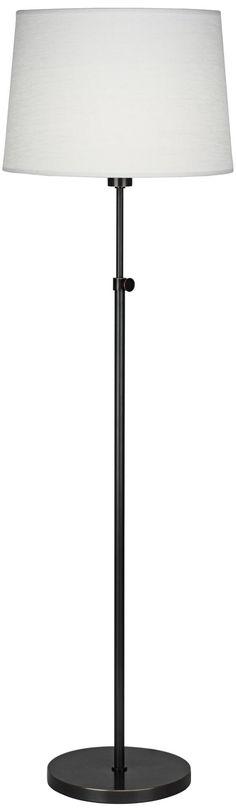 "Robert Abbey Koleman Deep Patina Bronze Club Floor Lamp | LampsPlus.com $229 68"" high"