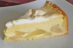 Birnenkuchen mit Baiser, ein sehr schönes Rezept aus der Kategorie Kuchen. Bewertungen: 108. Durchschnitt: Ø 4,5.