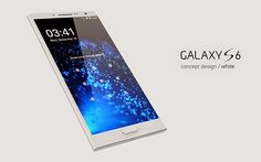 Gorgeous Galaxy concept gives Samsung a blueprint for reclaiming the smartphone crown Samsung Galaxy S6, Tech Gadgets, Cool Gadgets, Mobile Gadgets, E Ink Display, Iphone 6, Smartphone Reviews, Mobile World Congress, Latest Smartphones
