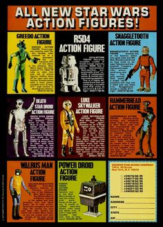 Star Wars action figures...can I print it out and order some?