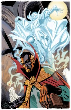 Asral form of Dr. Comic Book Characters, Marvel Characters, Comic Character, Comic Books Art, Comic Art, Doc Strange, Strange Magic, X Men, Captain America
