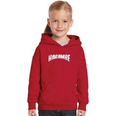 Rest In Peace Harambe Kids Hoodie