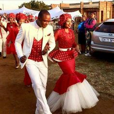 shweshwe dresses 2017 south africa Archives - style you 7 African Traditional Wedding Dress, Traditional Wedding Attire, Traditional Outfits, Latest African Fashion Dresses, African Print Dresses, African Dress, African Wedding Attire, African Attire, Shweshwe Dresses