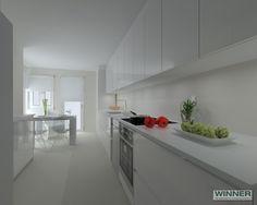 Diseño de Cocina en Madrid Line E con encimera Silestone de Santos Cocinas