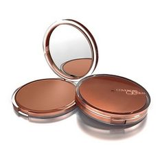 CoverGirl Queen Collection Lasting Matte Pressed Powder. Love this stuff...I think it's pretty comparable to MAC's Studio Fix but waay cheaper!