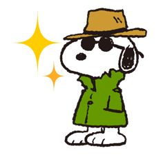 Snoopy, the dog of a thousand faces, is here to laugh, cry, smile, and blunder his way into your heart. He's also out to liven up chats with a little mischief! Snoopy Images, Snoopy Pictures, Cute Beagles, Peanuts Characters, Face Lines, Joe Cool, Cool Face, Charlie Brown And Snoopy, Snoopy And Woodstock