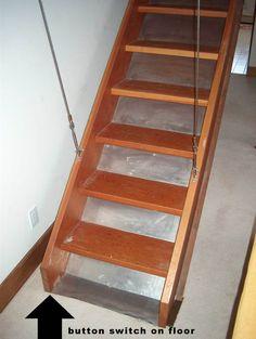 retractable attic staircase