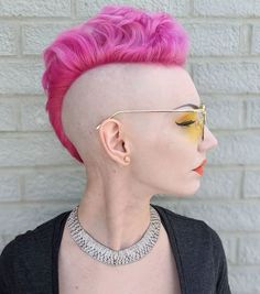 Long Hair Shaved Sides, Shaved Side Haircut, Shaved Pixie, Half Shaved, Long Hair Mohawk, Girl Mohawk, Lady Mohawk, Pixie Mohawk, Female Mohawk
