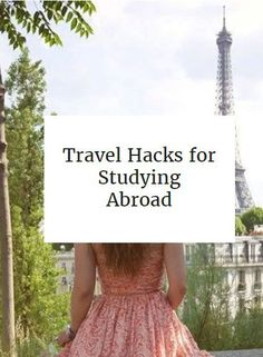 Travel hacks for studying abroad packing tips and travel acc Study Abroad Packing, Packing List For Travel, Packing Tips, Travel Maps, Travel Usa, Travel Destinations, Voyage Rome, Travel Scrapbook, Adventure Is Out There
