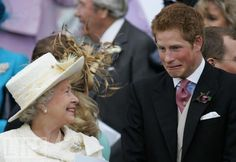 What Does It Take to Make the Queen Laugh?  Harry seems to have figured it out