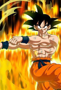 Goku SSJ Kaioken (Aureole) card [Bucchigiri Match] by on DeviantArt Dragon Ball Gt, Dragon Ball Image, Dragon Bollz, Goku E Vegeta, Goku Vegeta Fusion, Son Goku, Foto Do Goku, Broly Movie, Goku Drawing