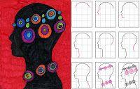 weeks 29-31 Africa Art Projects for Kids: Maasai Portrait