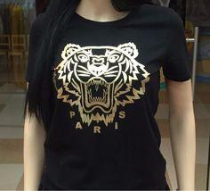 Hip Hop 1:1 High Quality Tiger Men T Shirt Cotton Summer Yeezy Brand Clothing DGK T-shirts Female Ape Streetswear Palace