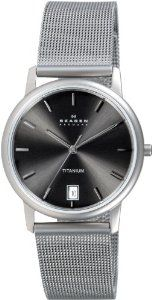 Titanium Watches, Quartz, Steel, Crystals, Wrist Watches, Mineral, Charcoal, Grey