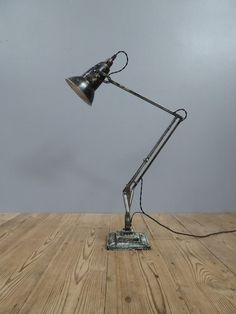 Three Step Herbert Terry Anglepoise Lamp - The Hoarde Desk Lamp, Table Lamp, Anglepoise Lamp, Types Of Lighting, Floor Lamp, Candle Holders, Wall Lights, Chandelier, Candles