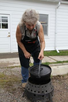 Some good information about dutch ovens. Complete with links and charts on what to use and how to use it and recipes.