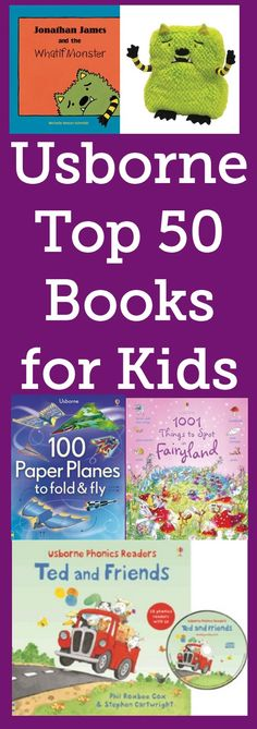 Fun books for kids, from activity books to lift-the-flap board books to chapter books and more! Something for every kid - Average price - $10 each.