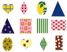 Подбери заплатку   Радуга Kids Patterns, New Print, Pattern Blocks, Playing Cards, Shapes, Teaching, Holiday Decor, Puzzles, Dan