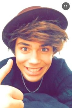 owwwwn  his smile :33 .George Shelley