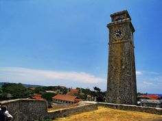 Clock tower of Galle #srilanka