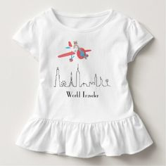 Ruffle Toddler T-shirt - toddler youngster infant child kid gift idea design diy