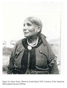 Santu Toney (1835-c. 1910) was the last speaker with some knowledge of the Beothuk language of Newfoundland.