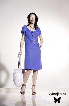 Выкройка платья для шоппинга и прогулок. Скачать выкройку бесплатно.http://vykrojka.ru/uploads/posts/2010-11/1291145037_platie-all.jpg