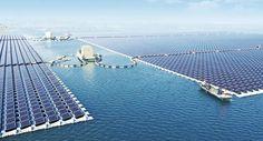 La mayor granja solar flotante del mundo empieza a funcionar en China