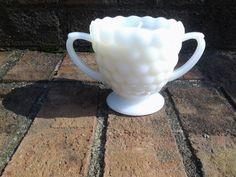 Vintage Orange Scented Hobnail Milk Glass by BlueHenCandleCompany, $16.00