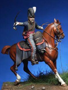 I Soldatini di Gaetano Ciotola: Ufficiale Royal Horse Artillery - Waterloo 1815 - Collezione Gaetano Ciotola
