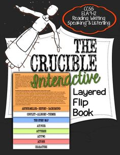 The Crucible: Interactive Layered Flip Book