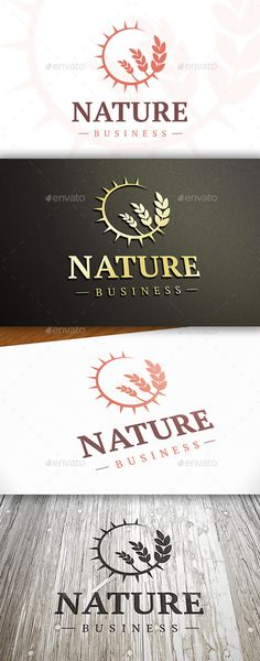 Sun Wheat Logo — Vector EPS #crop #agricultural • Available here → https://graphicriver.net/item/sun-wheat-logo/10326173?ref=pxcr