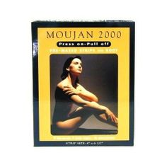 Moujan 2000 Press-on Pull-off Pre-waxed Strips for Body (10 Strips) by Moujan. $4.79. These pre-waxed strips have been developed to be gently pressed onto each area and then pulled off.. Simple, effective, natural. These strips are the most advanced method for removing unwanted hair from the body.. The strips quickly and efficiently lift the hair-including the bulb and its roots-leaving the skin beautifully smooth for weeks.. These pre-waxed strips are the perfect size ...