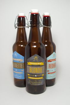 Backhouse Brewing Co.......don't drink beer but love the bottle