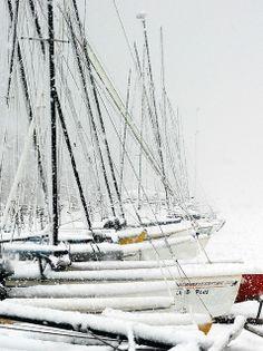 winter sails....gorgeous
