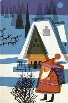 Letter from Santa card cover 1963. © Royal Mail Group Ltd, courtesy of The…