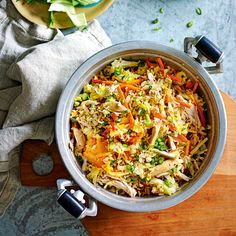 Veggie Recipes, Lunch Recipes, Healthy Recipes, Kimchi Fried Rice, Korean Chicken, Slimming Recipes, Microwave Recipes, Weight Watchers Meals, Yummy Food