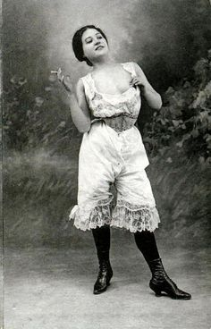 1920's Bad Ass in Bloomers