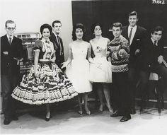 los hermanos carreon, norma herrera, irma dorantes, emily cranz y cesar costa. 1966