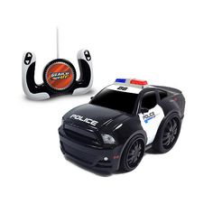 Jam'n Products 1:10 Scale Remote Control Vehicle - Police Gear'd Up Chunky Ford Mustang $49.99  #TopRevews