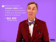 "Bill Nye to Planned Parenthood defunders - ""You literally don't know what you're talking about."""