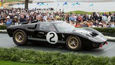 1966 Ford GT40 P/1046 Mk II | 10 Winning Cars from the 2016 Pebble Beach Concours d'Elegance
